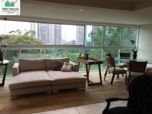 Belíssimo Apartamento Com 207 M²  No Condomínio Villaggio Panamby. - Ap5520v - 68728938
