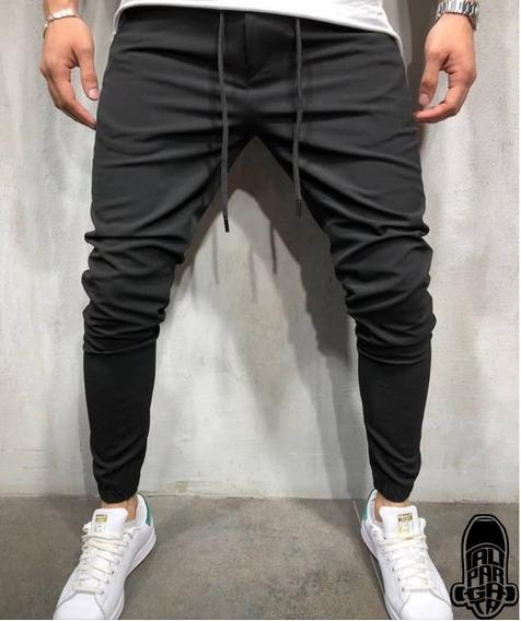 Pantalones De Caballeros Joggers Drill Strech