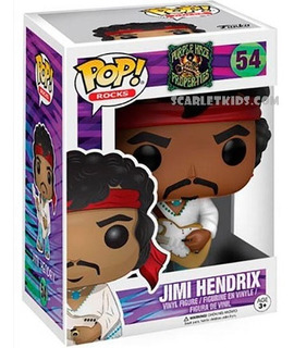 Funko Pop Jimi Hendrix 54 Original Funko Pop Rocks Vinil