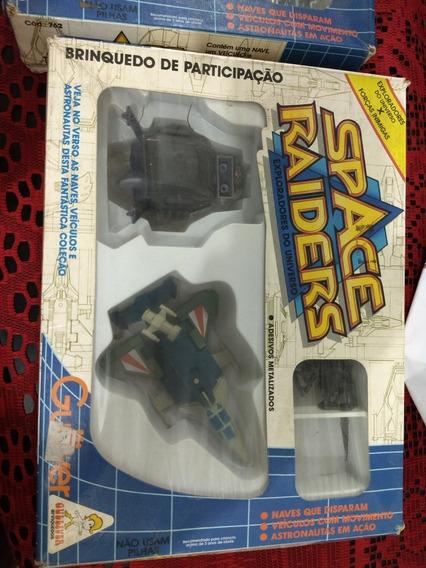 Lote Space Raiders Gulliver Na Caixa