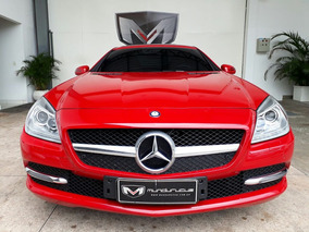 Mercedes Benz Classe Slk 1.8 Turbo 2p 2014/2014 Vermelha