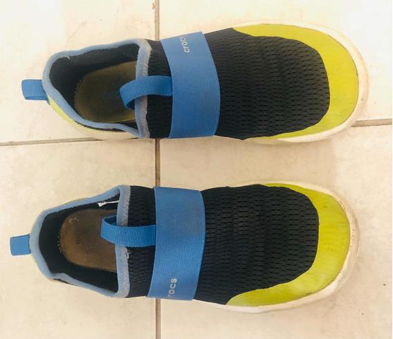 Crocs Zapatillas Niño Talle J2 Talle 33-34