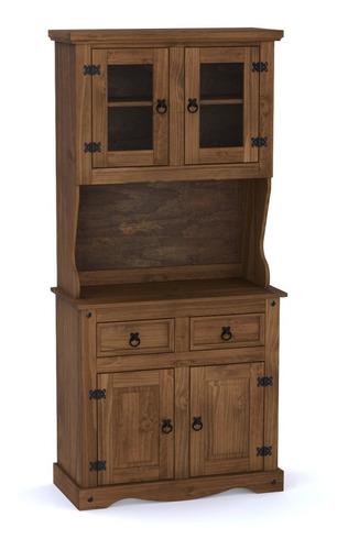 Mueble - Modular - Cristalero - Madera - Living -cocina -lcm