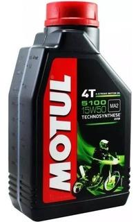 Aceite Motul 5100 4t 15w50 Semi Sintetico No Elf Riderpro