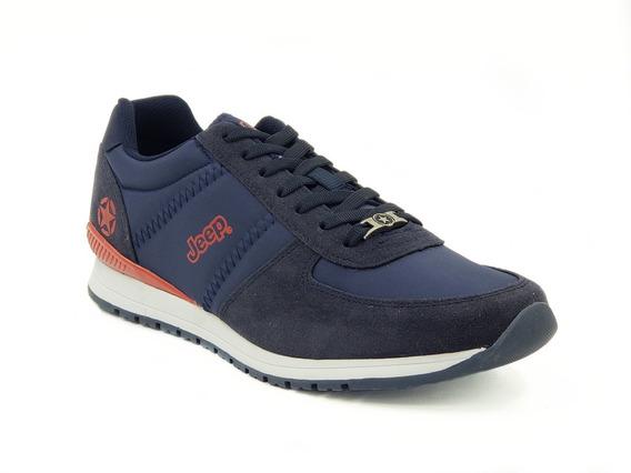 Tenis Jeep Footwear Azul Hombre Modelo: Js 200