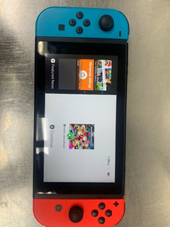Nintendo Switch Console Neon Blue & Neon Red Joy