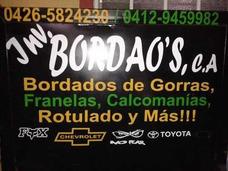 Bordados Y Ventas De Gorras,chemises,camisas, Calcomanías Y