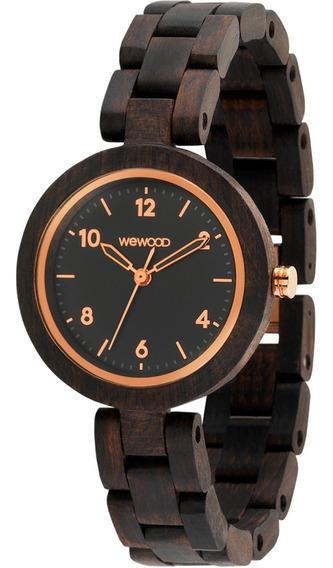 Relógio Wewood - Daphne Black Rough Rose - Wwda01