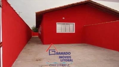 Casa Em Mongaguá Nova Aceita Financiamento Caixa
