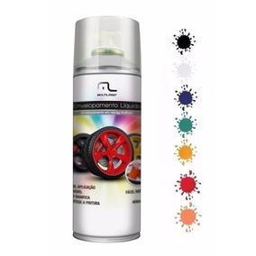 Kit 4 Spray Envelopamento Liquido Cor Brancoadesivo Moto