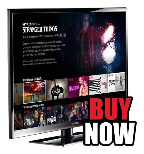 Tv Samsung 43 = Tcl - 3d Chromecast Incluido - N E T F L I X