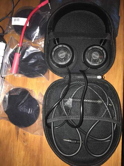 Headphone Grado Prestige Sr125i + Case, Adaptador E Espumas