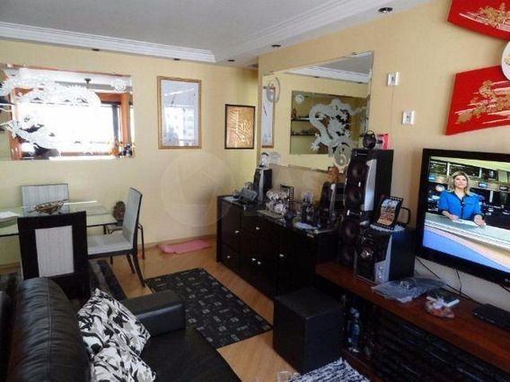 Apartamento Com 3 Dormitórios À Venda, 65 M² Por R$ 390.000 - Guarapiranga - São Paulo/sp - Ap0061