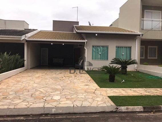 Casa Com 3 Dormitórios À Venda, 165 M² Por R$ 590.000,00 - Condomínio Campos Do Conde - Paulínia/sp - Ca13437