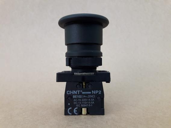 Botão Pulsador Plastico 40mm Vm/pt/vd/am/gira-trava 1nf-np2