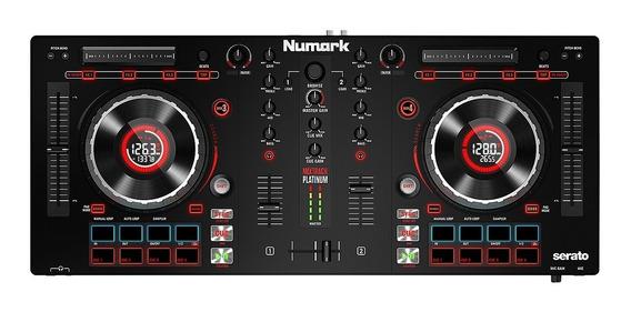 Controlador De Dj Numark Mixtrack Platinum 4 Canais - Gtia.