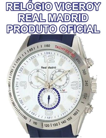 Real Madrid Relógio Oficial Exclusivo Com Certificado