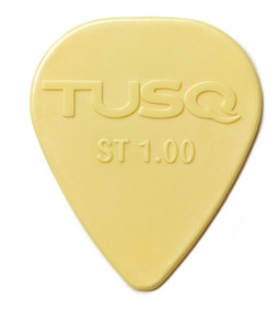 Palheta Tusq - Standard - Creme 1.00mm - Graphtech