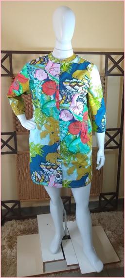 Saída De Praia/túnica /vestido/ Moda Indiana C381