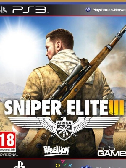 Ps3 - Sniper Elite 3 - Mídia Digital