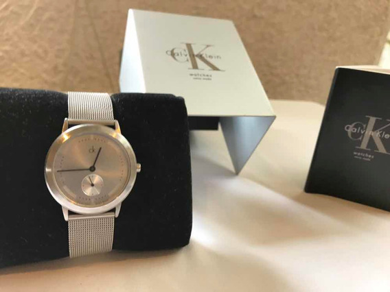 Reloj Calvin Klein Hombre Todo En Acero Perfecto Original