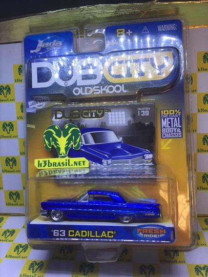 Bx402 Jada Dub City 63 Cadillac Old Skool Classico H3br