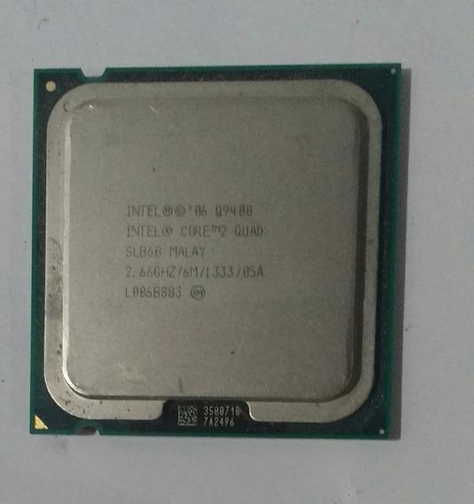 Processador Intel Core 2 Quad Q9400 2,66 Ghz /6m/1333/05a