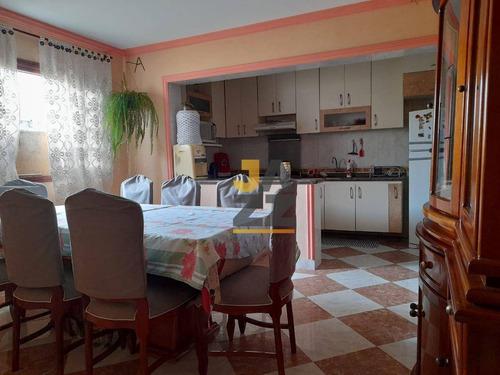 Imagem 1 de 21 de Casa Com 3 Dormitórios À Venda, 164 M² Por R$ 380.000,00 - Vila Sacadura Cabral - Santo André/sp - Ca14489