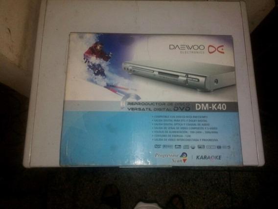 Dvd Daewoo Modelo Dm-k40