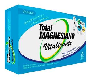 Total Magnesiano Suplemento Dietario Vitalizante X 30 Un