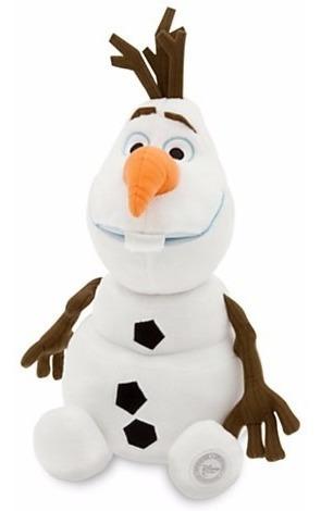 Disney Store Olaf Frozen Pelúcia Medio 34cm
