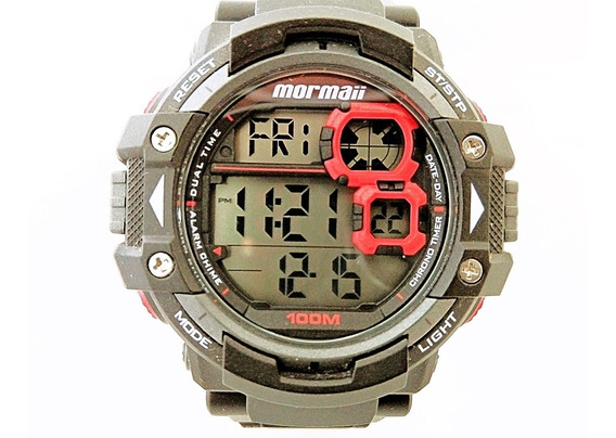 Relógio Mormaii Masculino Vitrine ( Mostruário) Mo13609/8r