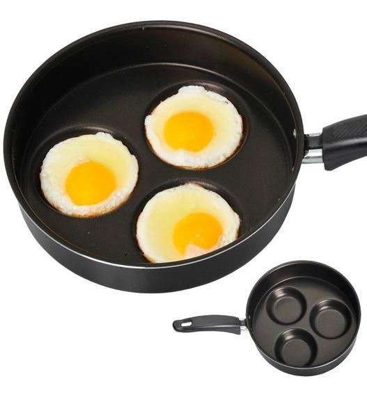 Frigideira Alumínio Antiaderente 3 Ovos N22 Gastrobel