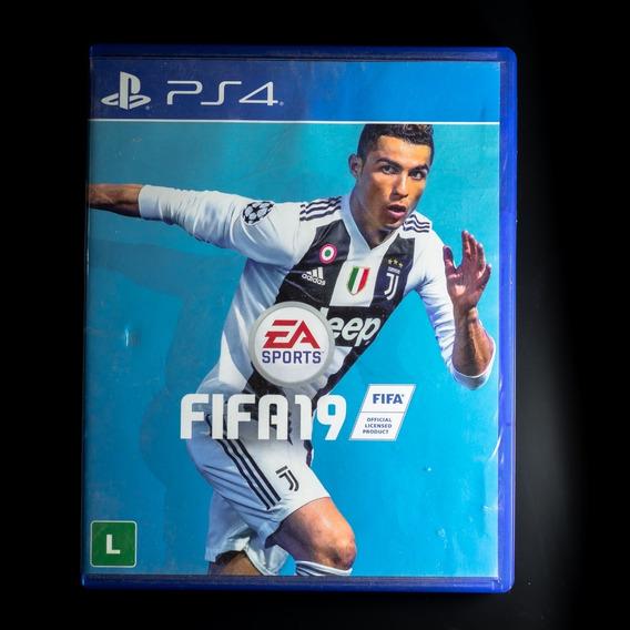 Jogo Fifa 2019 Playstation Ps4 - Mídia Física (usado)