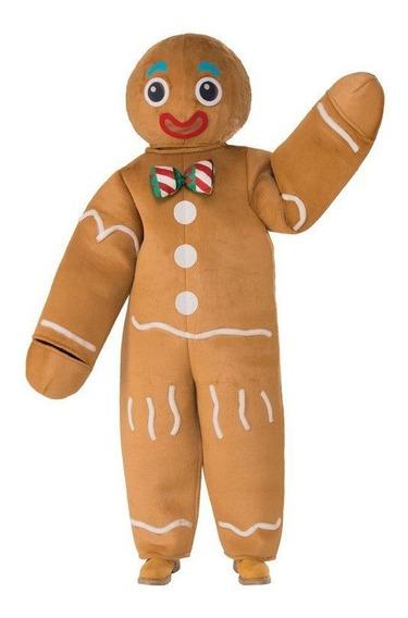 Disfraz De Galleta De Gengibre Navidad Shrek Para Adultos Mercado Libre