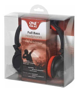 Auriculares One For All Full Bass - Zona Norte -