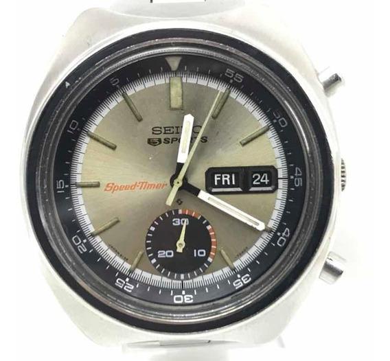Relógio Seiko Sports Speed Timer 6139 B 21 Rubis Disco Voador De Novembro De 1971 Garantia E Frete Grátis Relogiodovovô