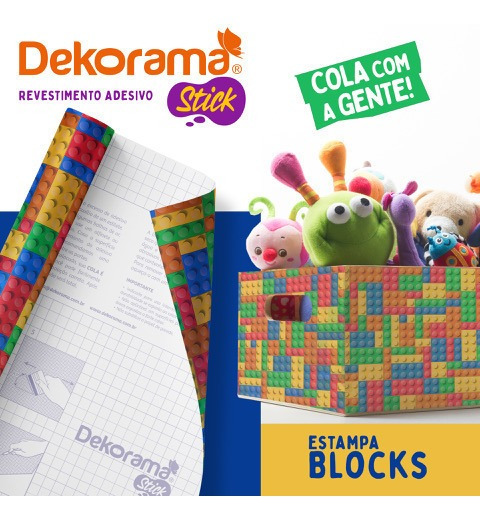 Adesivo Contact Dekorama Stick 02m X 45cm