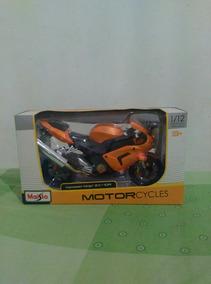 Moto De Colección, Maisto Kawasaki Ninja Zx10r Esc. 1/12