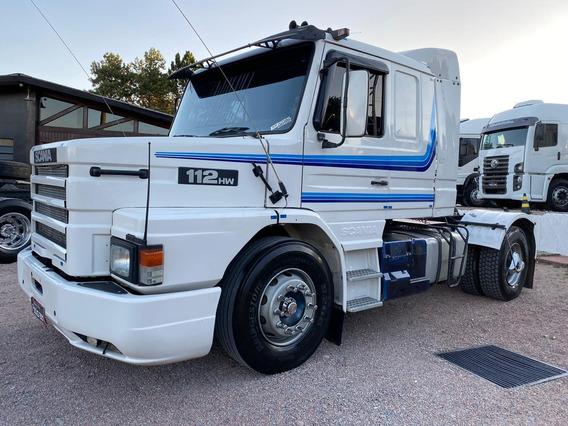 Scania 112 Hw 360 Toco 4x2 Rodas Disco Com Ar-condicionado