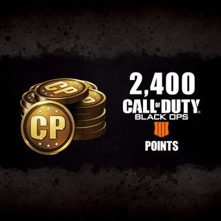 Call Of Duty: Black Ops 4 - Cod Points 2400 - Ps4