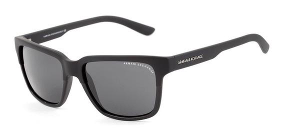 Óculos De Sol Armani Exchange Ax 4026 S 812287 Preto Fosco