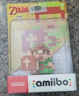 Amiibo Link The Legend Of Zelda (la Leyenda De Zelda) Pixel