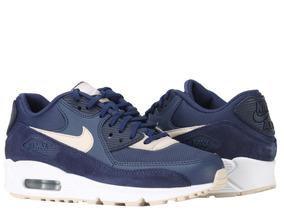 Tênis Nike Air Max 90 Binary Blue Oatmeal Feminino.