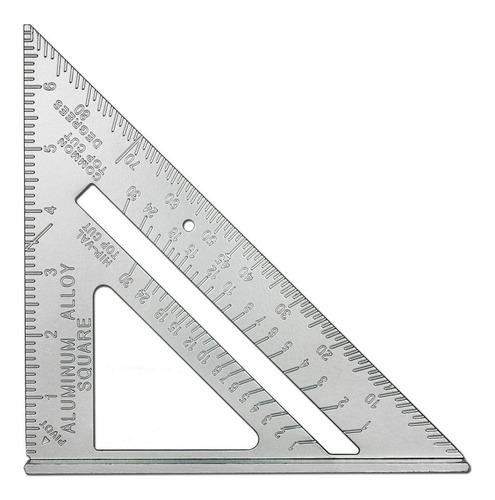 Escuadra Aluminio Triangulo Metalica Con Sombrero 0-7 Pulgadas 0-90º Ferreteria Express