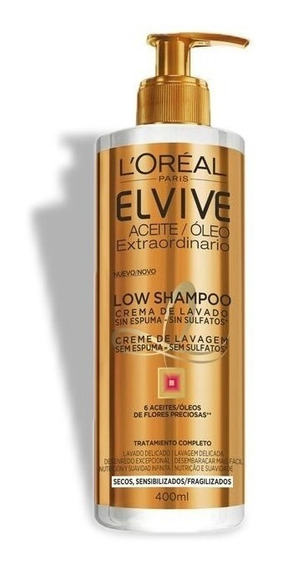 Crema De Lavado Para Cabello Low Shampoo Oleo Extra Loreal