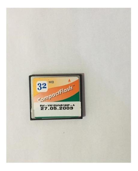 Cartão De Memória Compact Flash (cf) Apacer 32mb