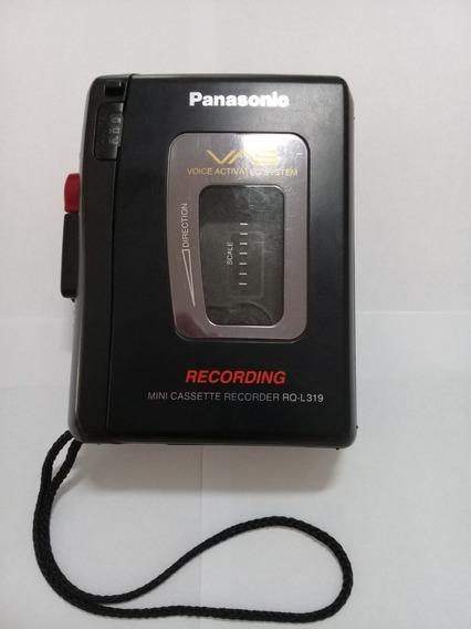 Walkman Panasonic Rq-l319 - Somente K7 Player (ler Anúncio)