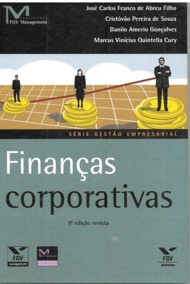 Livro Finanças Corporativas Série Gestão Empresarial