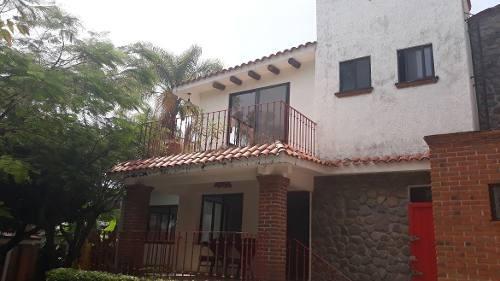 Casa Sola En Hacienda Tetela / Cuernavaca - Vem-771-cs